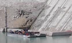 Einlaufbauwerk am Forggensee Staudamm Roßhaupten